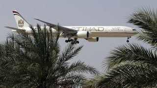 طائرة تابعة لطيران الاتحاد