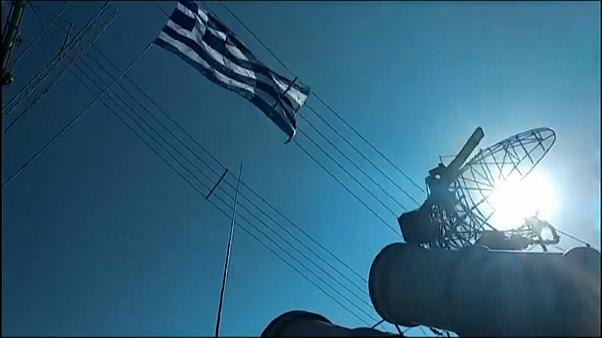Greek forces hold military drill in Eastern Mediterranean