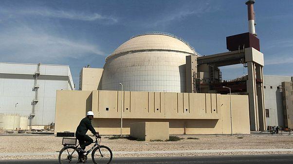 صورة أرشيفية لمحطة بوشهر النووية، أكتوبر 2010