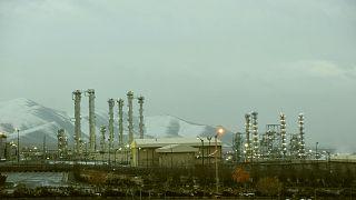 İran'ın Arak kentinde bulunan nükleer tesis (arşiv)