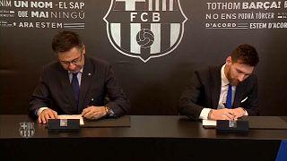 Les fans du Barça veulent retenir Messi
