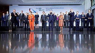 نشست وزرای دفاع کشورهای عضو اتحادیه اروپا در برلین