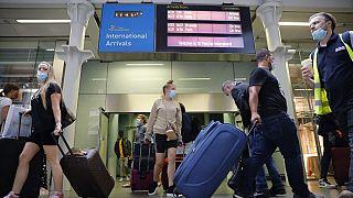 Londres impuso su propia norma de cuarentena a los viajeros procedentes de Francia el 15 de agosto, provocando el pánico en los británicos que se apresuraron a volver.