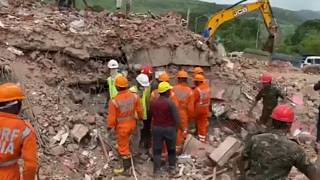 rescue operation underway