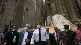 Fransa Cumhurbaşkanı Emmanuel Macron, 4 Ağustos'ta yaşanan patlamanın ardından Lübnan'ı ziyaret etmişti