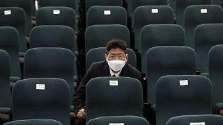 Güney Kore meclisinde bir muhalefet milletvekili
