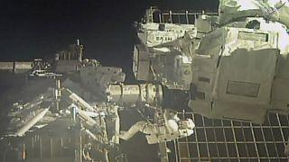 صورة لمحطة فضاء