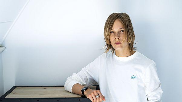 Yazar Marieke Lucas Rijneveld