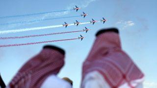 Légi bemutató az Egyesült Arab Emírségekben