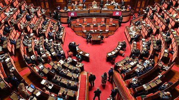Una seduta del Senato