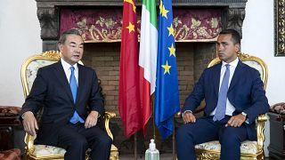 Visita del ministro degli Esteri cinese Wang Yi a Roma