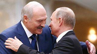 ولادیمیر پوتین و الکساندر لوکاشنکو