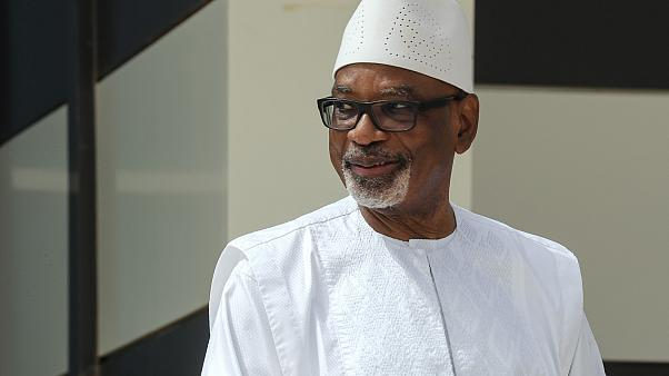 Mali'deki devrik lider İbrahim Boubacar Keita
