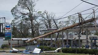 "В Луизиане растёт число жертв ""Лауры"""