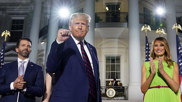 Con polémica, Donald Trump acepta la nominación republicana a la Presidencia de EEUU