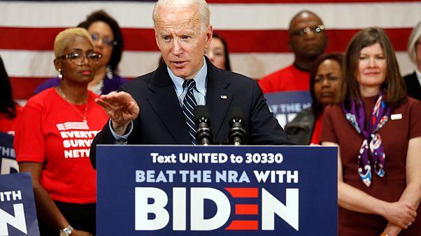 المرشح الديمقراطي جو بايدن