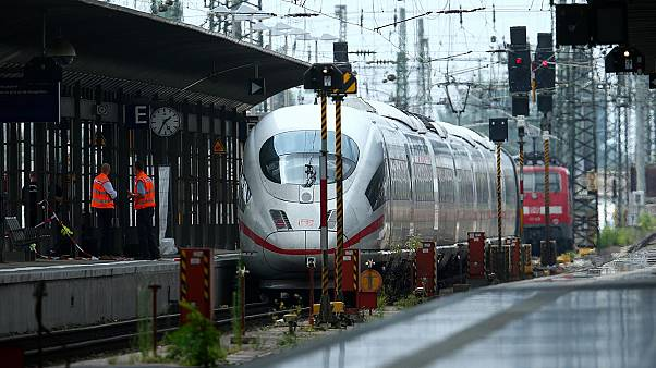 Almanya'da tren istasyonu