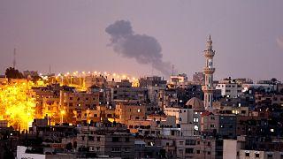 İsrail Gazze şeridine hava saldırısı düzenledi