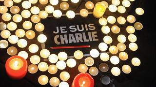 """I am Charlie"" became the global outcry against the 2015 attacks."