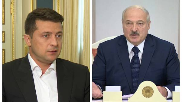 Украина приостановила дипломатические контакты с Беларусью