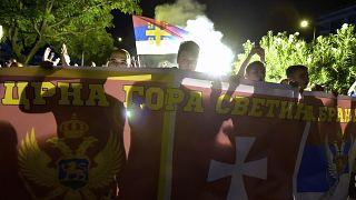 Manifestations au Monténégro