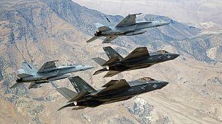 F-35 savaş uçakları