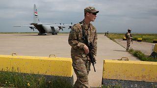 Irak'ta ABD askeri