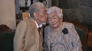 Le couple marié le plus âgé au monde entre dans le Guinness des records