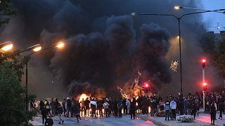 من أعمال العنف في مالمو