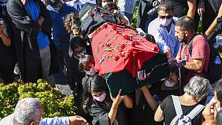 Ebru Timtik funeral