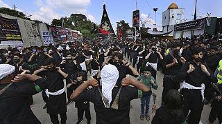 Muharram procession
