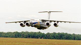 Rus askeri kargo uçağı Ilyushin Il-76 (arşiv)