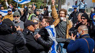 Nouveau samedi de manifestations en Israël