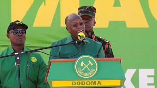 Intense Tanzanian Presidential Race