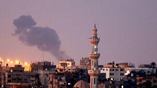İsrail, Hamas'a ait bazı noktaları vurdu