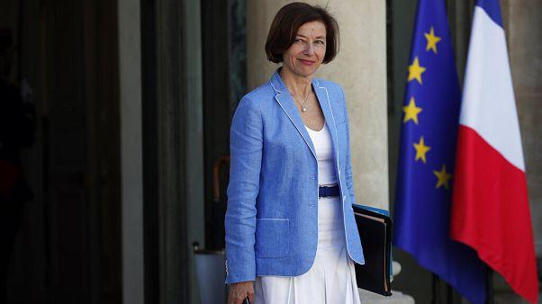 Η υπουργός Άμυνας της Γαλλίας, Φλοράνς Παρλί
