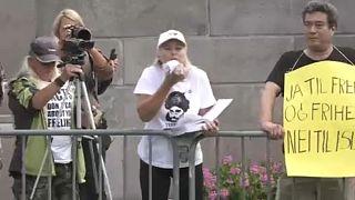 Festnahmen nach Anti-Islam-Kundgebungen in Norwegen und Schweden
