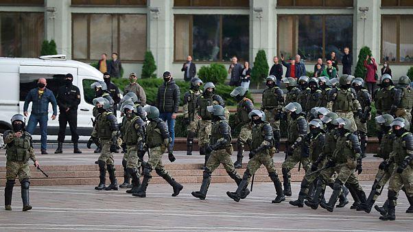 مظاهرات في بيلاروس