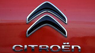 A Citroen logo, of PSA Group