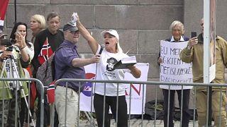 المتظاهرة اليمينية النرويجية
