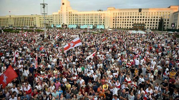 Minsk protesto