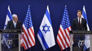 İsrail Başbakanı Binyamin Netanyahu, ABD Başkanı Trump'ın damadı ve danışmanı Jared Kuşner'le görüşmesinin ardından açıklama yaptı