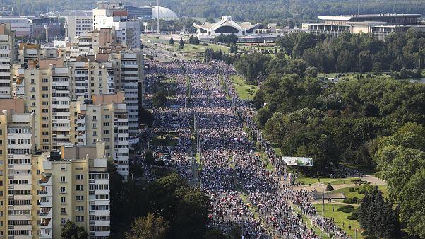 Λευκορωσία: Τρίτο Σαββατοκύριακο αντικυβερνητικών διαδηλώσεων
