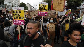 Manifestation anti-raciste à Londres