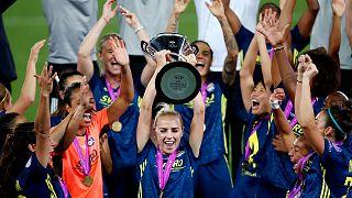 UEFA Kadınlar Şampiyonlar Ligi şampiyonu Olympique Lyon
