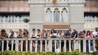 المعجبون ينتظرون وصول النجوم إلى مهرجان البندقية السينمائي في البندقية -  صورة من الأرشيف