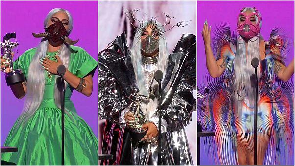 5 Mal abgeräumt: Lady Gaga rockt MTV Awards