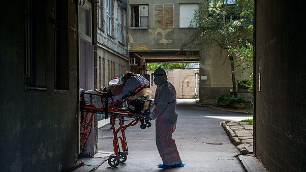 Járványügyi gyakorlat a Szent János kórházban