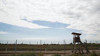 Megfigyelési pont a magyar-szerb határon