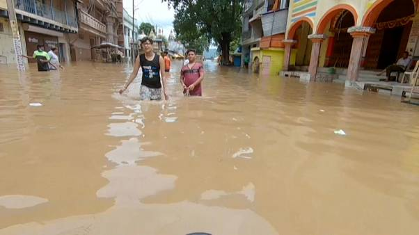 Monsoon floods ravage central India